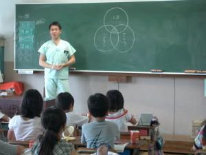 子母口小学校の学校歯科医